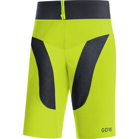 GORE WEAR C5 Trail Light Pantaloncini Uomo, citrus green/black